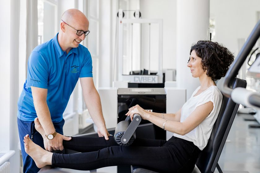 Physiotherapie mit Personal Trainer