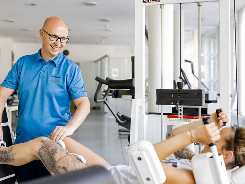 Physiotraining mit Pesonal Trainer